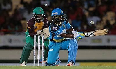 Johnson Charles is St Lucia's leading run-scorer in the tournament so far